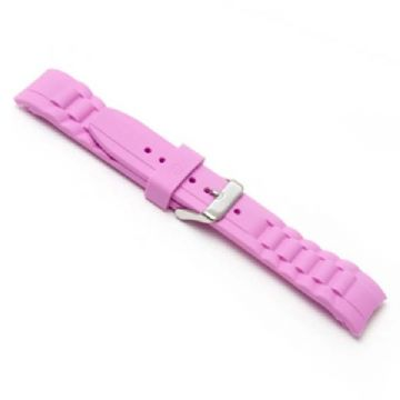 Pink Silicone Watch Strap to Fit Ice Watches